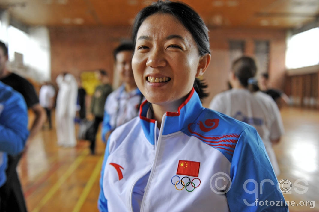 Ms. Yang Jing: Associate Professor of Capital Sports University, Yang Style Taijquan